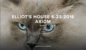 ELLIOTS HOUSE AT AXIOM