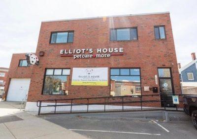 Exterior of Elliots House, Somerville